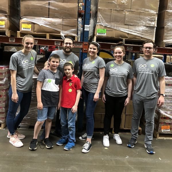 Optidge Helps Prepare 16,875 Meals for Senior Citizens at the Houston Food Bank