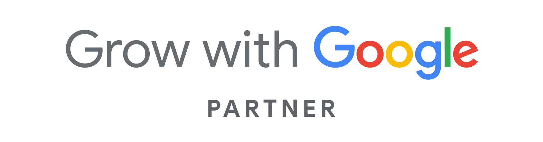 Grow with Google Partners Badge of Optidge