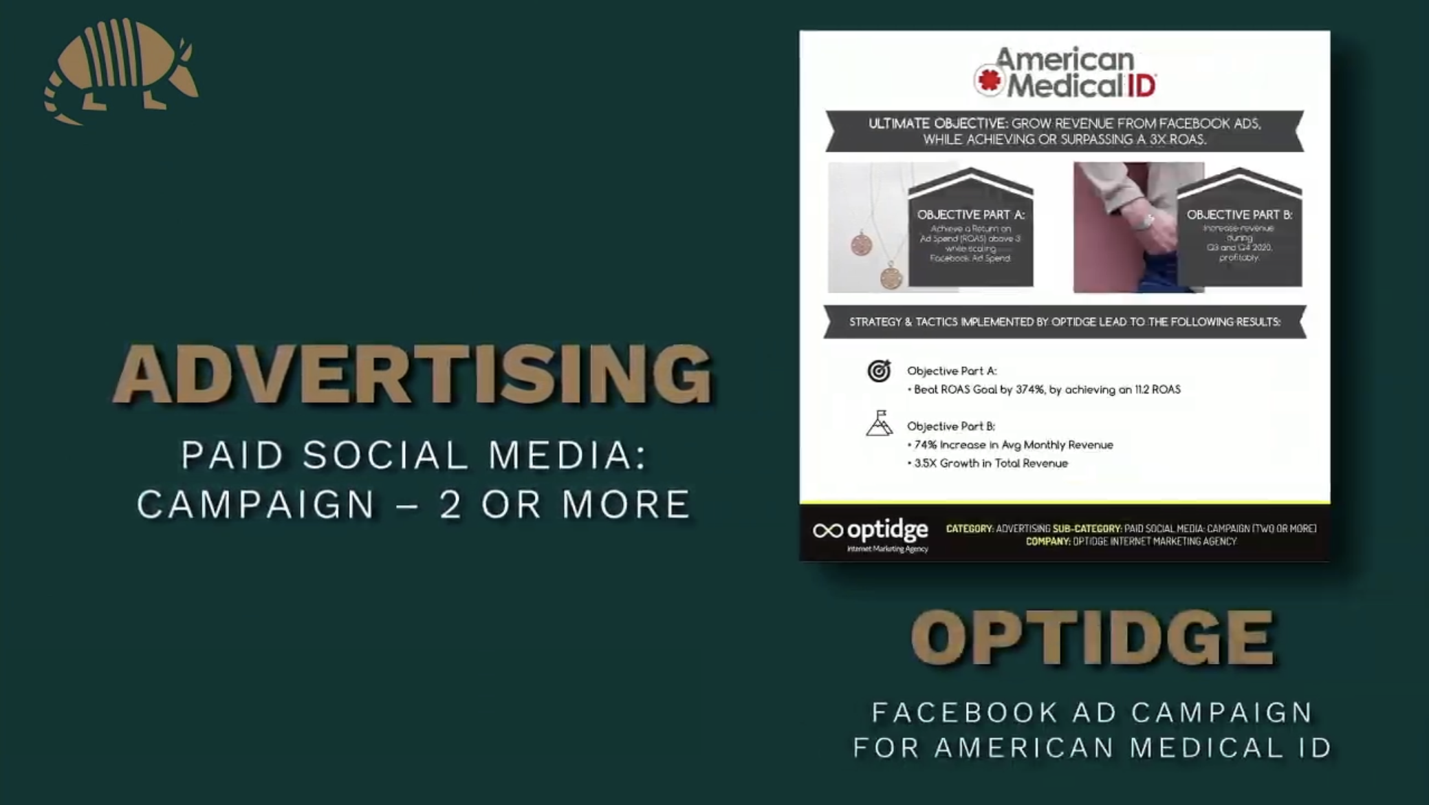 2021 AMA Crystal Award Winner for Medical ID Jewelry Retailer Ad Campaign